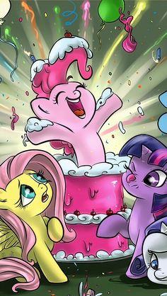 Pinkie Pie Twilight And Fluttershy