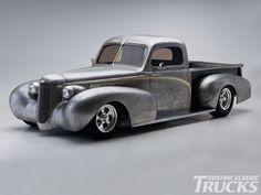 Bare Metal 1948 Ford Pickup Truck Rear Fender Photo 4