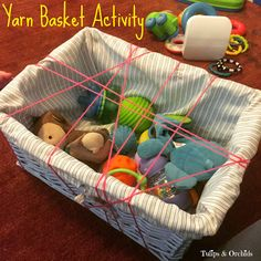 Infant Activity & Cupcake Liner Crafts in the Wonderful Wednesday Blog Hop #115