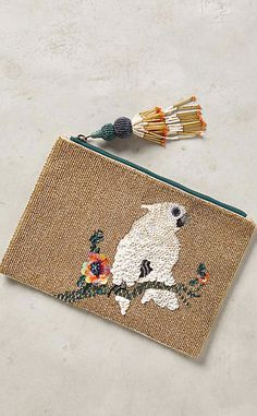 Pretty Polly Pouch #anthrofave