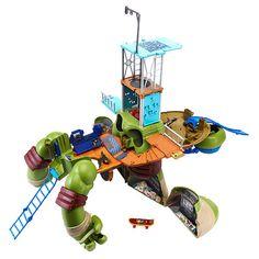 """Teenage Mutant Ninja Turtles 24 Inch Leonardo Turtle Playset - Playmates - Toys """"R"""" Us"""
