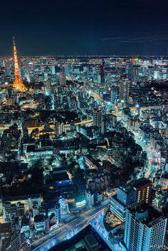 HDR Photo: Tokyo Night