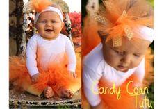 Candy Corn Tutu