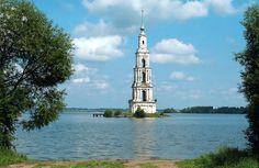 Kalyazin bell tower, Russia