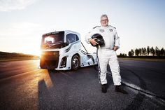 Volvo Iron Knight Breaks Truck Speed Records! Two world records were secured by the 2400 hp Volvo Iron Knight in the categories of the 500 and the 1000 meter standing-start. Boije Ovebrink, drove the 4.5 tonne truck to the record breaking speed as he did in 1994, which brought him the title of European Truck Racing Champion. This time...