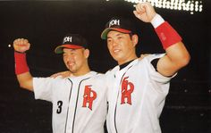 Fukuoka Daiei Hawks  Hiroki Kokubo & Nobuhiko Matsunaka