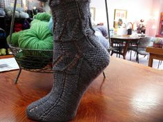 Ravelry: Out. For. A. Walk. B*tch Socks pattern by Lisa Tomko