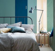 KOPARDAL bedframe | #IKEA #IKEAnl #slaapkamer #staal #industrieel #tweepersoons #nieuw