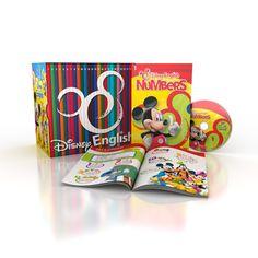 #DisneyEnglish English course for Kids in Dvd Collection designed for Corriere della Sera newspaper #editorial #design