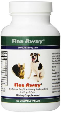 Flea Away The Natural Flea, Tick, And Mosquito Repellent for Dogs and Cats Review - http://www.bestfleamedicinefordogs.com/flea-tick-pills/flea-away-the-natural-flea-tick-and-mosquito-repellent-for-dogs-and-cats-review/