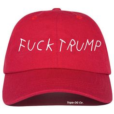 d740361063b98 Fuck Trump Baseball Hat Baseball Cap Tumblr Style Hat Cotton Hat