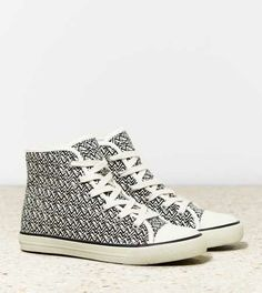 AEO Printed High Top Sneaker - Free Shipping