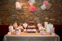 Create a sweet table/candy buffet - Sweet & Pretty Weddings as your contact - 07725 656682