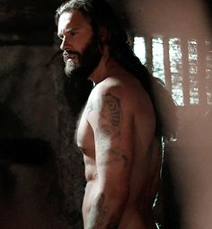 "Clive Standen as ""Rollo"" on ""Vikings"""