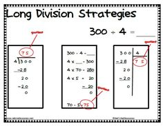 Long Division – 2 Digits By 1 Digit