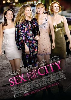 "The Sex and the City movies symbolises to me ""best friends"". Having a best friend or two is so important to me. I have learnt not to waste my time with people who are jealous or in competition with me, who tries to disinpower me, instead I seek out strong, positive, fun and loyal women I can share everything with!"