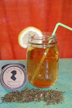 Organic Mint Loose Leaf Tea and Iced Tea 1 oz by TeaandSensibility, $6.00