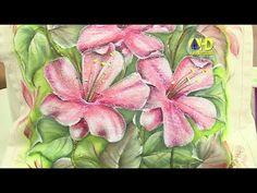Vida com Arte | Bolsa com pintura em tecido molhado por Luís Moreira - 2...