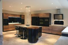 Tynemouth Bookmatched Lignum with black gloss