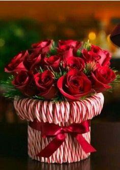 valentijn bloempot snoep