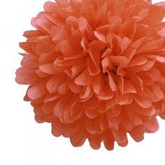Poppy Tissue Pom Poms - Set of 4 by How Divine https://www.howdivine.com.au/store/product/poppy-tissue-pom-poms-pack-of-4