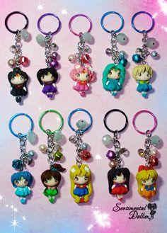 Sailor Moon Accesories Sailor Moon Key chain by SentimentalDollieZ