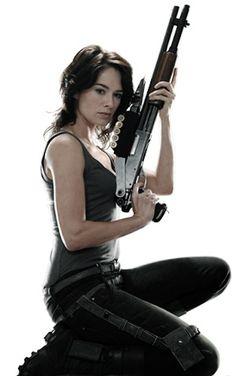 Lena Headey as Sarah Connor - Terminator: The Sarah Connor Chronicles