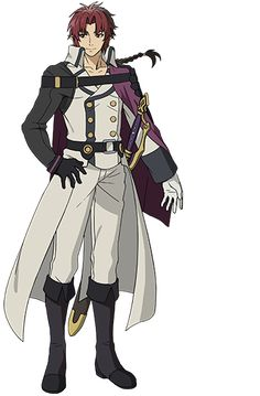 Seraph of the End Crowley Eusford.« HE HAD A NAME! I THOUGHT IT WAS JUST THAT ONE NOBLE