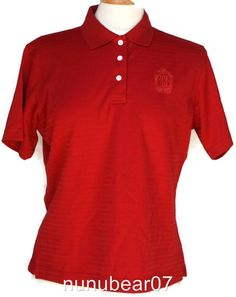 Disneyland Members Only Club 33 Red Womens Shirt XL New Disney