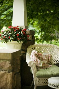 Cozy Country Porch