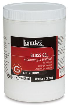 Liquitex gel medium - for picture transfer to wood