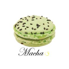 Many have asked! Here it is: M&M, Macha Macaron! #yannpins