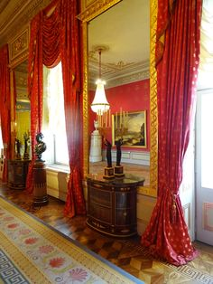 Audience Hall, Albertina State Rooms   Photo: 2016, © Albertina, Wien #AlbertinaStateRooms #AlbertinaPrunkräume State Room, Reception Rooms, Curtains, Home Decor, Restore, Reception Halls, Blinds, Decoration Home, Room Decor