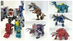 超大恐龙合体变形金刚5合1 Oversized Transformers combiner Dinosaur Robots 5 in 1