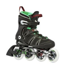 Racing Skates - K2 Sports Mens Mach 90 XTraining 2012 Inline Skates BlackGreenRed * Check this awesome product by going to the link at the image.
