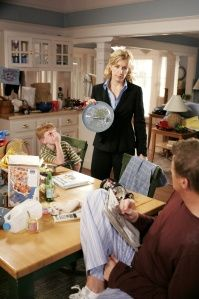 """Desperate Housewives: Lynette confronting Tom about his house cleaning """"system"""""""