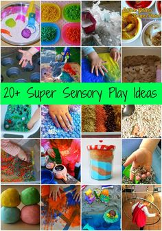 Sensory Play Ideas: 5 Games to Develop the Sense of Touch Sensory Tubs, Sensory Activities Toddlers, Craft Activities For Kids, Infant Activities, Sensory Play, Toddler Preschool, Toddler Crafts, Senses Activities, Sensory Boards