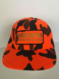 0cd5a442 Vintage Rough Country The Hunter's Choice Camo Insulated Snapback Hat Cap  #Unbranded #TruckerHat Hat