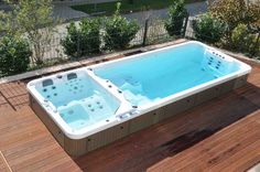 rooftop deck with swim spa - Google Search