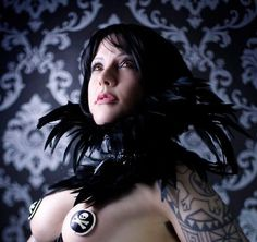 Black PVC Feather Collar Gothic Couture Fetish Glamour Gaga Costume Accessory Choker SAVAGE HEART