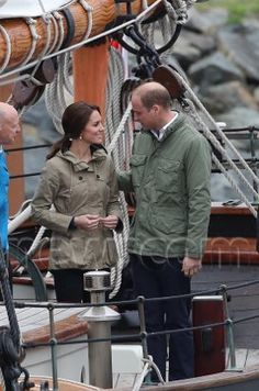 Kate and William in Canada, 9/2016