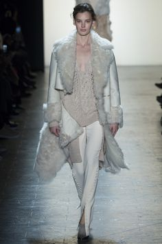 Prabal Gurung Fall 2016 Ready-to-Wear Collection Photos - Vogue...love the way you can zip apart that coat to create a cropped jacket...