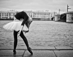 Paris-based photographer Little Shao (aka Thinh Souvannarath) unites the two in his dance-inspired photo series. His beautiful artworks depict athletic, graceful ballet dancers — many in pedestrian clothes — set in urban environments.