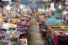 Jagalchi Fish Market, Buson, South Korea