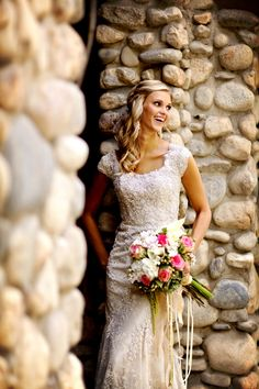 Secret Garden Wedding Portraits | Pepper Nix Photography | See More! http://heyweddinglady.com/classic-vintage-blush-and-ivory-wedding-from-pepper-nix-photography/