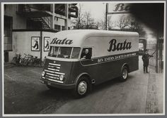 "DAF Delivery truck - ""Bata Shoes are better and cost less"", Netherlands, 1951"