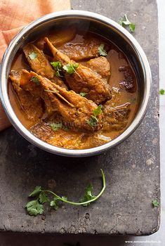 Chitol Maach er Kalia/Spicy Chitol Fish Curry - Not Out of the Box