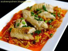 Thai Red Curry, Tasty, Fish, Chicken, Ethnic Recipes, Dhal, Cauldron, Kitchen, Diet