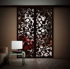 Anna's Screen Wood Partition, Door Gate, Luxury Interior Design, Tiny Houses, Laser Cutting, Metal Working, Creative Ideas, Beautiful Homes, New Homes