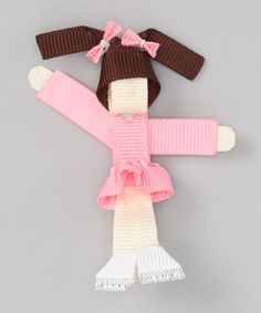Take a look at this Pink Ice Skater Clip by The Hair Candy Store on #zulily today!